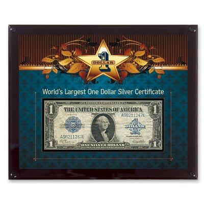 American Coin Treasure World's Largest Silver Certificate...