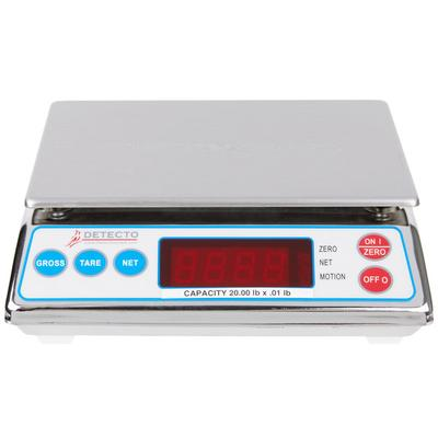 Cardinal Detecto AP-20 20 lb. Digital All-Purpose Portion...