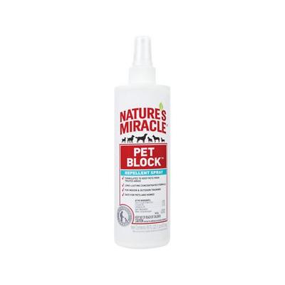 Nature's Miracle Pet Block Repellent Spray, 16-oz bottle
