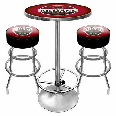 Trademark Global Killians Beer Game Room 3 Piece Pub Tabl...