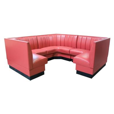 American Tables And Seating Mfg AS-486-3/4 6 Channel Back...
