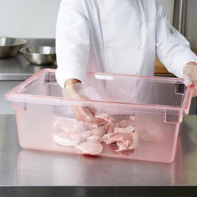 "Carlisle 10622C05 StorPlus Red Food Storage Box - 26"" x 1..."