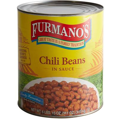 Furmano¿s Spiced Chili Beans #10 Can