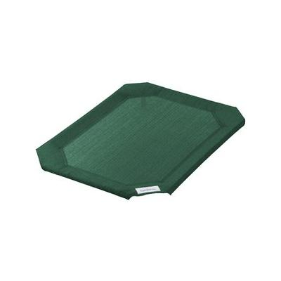 Coolaroo Replacement Cover for Steel-Framed Elevated Pet Bed, Brunswick Green, Medium