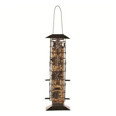 Perky-Pet Birdscapes Be Gone Caged Tube Bird Feeder ODS336