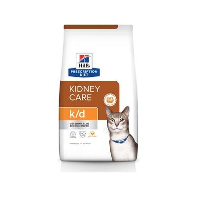 Hill's Pet Nutrition k/d Kidney Care with Chicken Dry Cat...