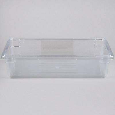 Rubbermaid FG330800CLR Clear Polycarbonate Food Storage B...