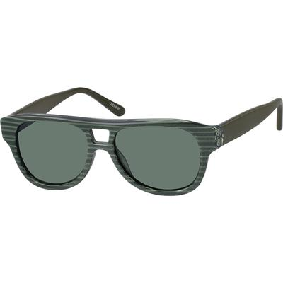 Zenni Sunglasses Green Frame A10120824