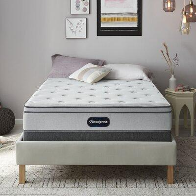 "Simmons Beautyrest Beautyrest 11"" Plush Innerspring Mattress 700360551 Mattress Size: Twin"