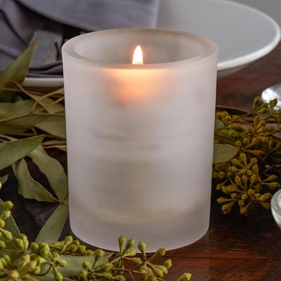 "Sterno Products 80268 4"" Petite Frost Glass Votive Liquid..."