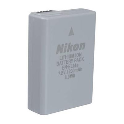 Nikon EN-EL14A Rechargeable Li-Ion Battery for Select Cam...