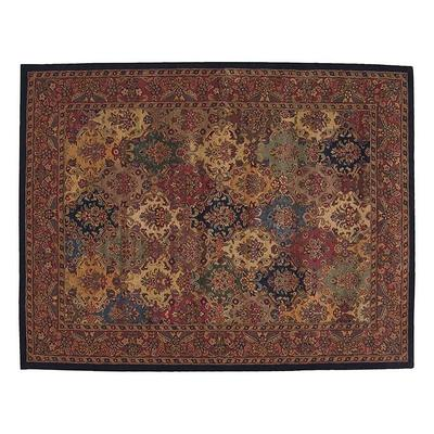 Nourison India House Floral Wool Rug, Multicolor