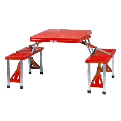 Picnic Time Foldable Table, Multicolor