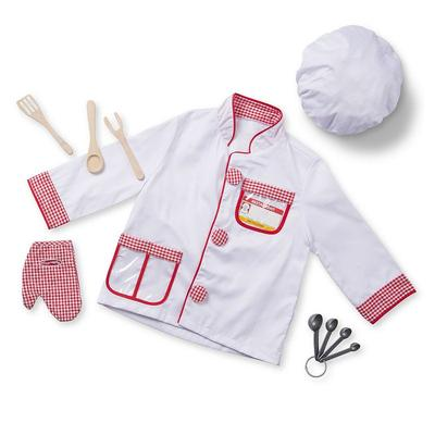 Melissa and Doug Chef Costume - Kids, Kids Unisex, Multicolor