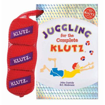 Klutz Juggling for the Complete Klutz Activity Book by University Games, Multicolor