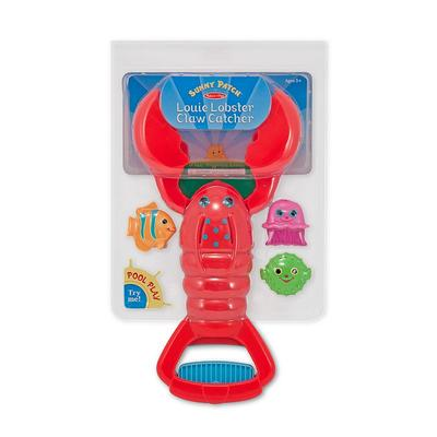 Melissa and Doug Louie Lobster Claw Catcher, Multicolor