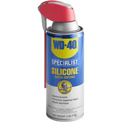 WD-40 300012 Specialist 11 oz. Water Resistant Silicone L...