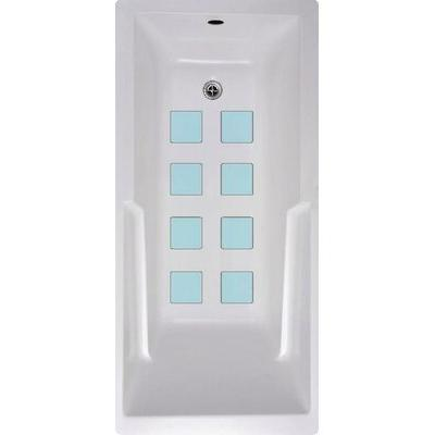 No Slip Mat by Versatraction Squares Bath Tub and Shower ...