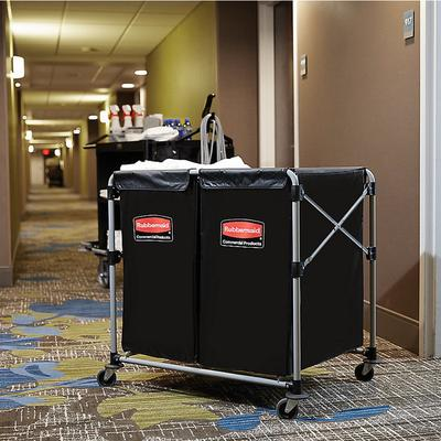 Rubbermaid 1881781 Laundry Cart - 4 Bushel Collapsible Tw...
