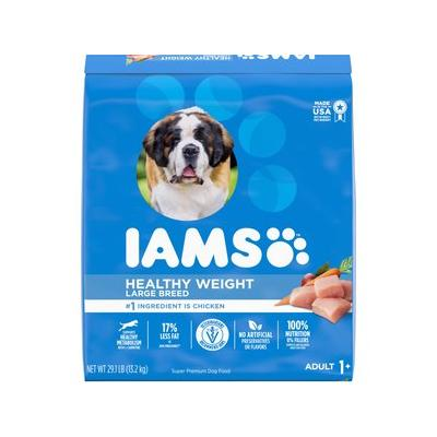 Iams ProActive Health Adult Healthy Weight Large Breed Dr...