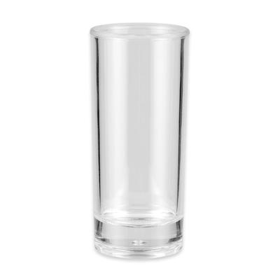 GET SW-1408-1-CL 3-oz Shooter Glass, Plastic, Clear
