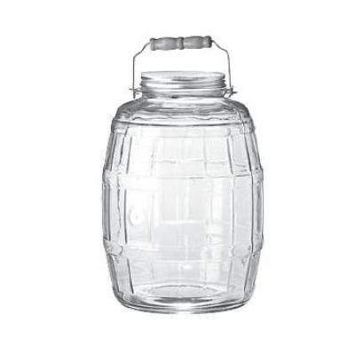 Anchor 85679 2.5 gal Barrel Jar w/ Handle & Brushed Alumi...