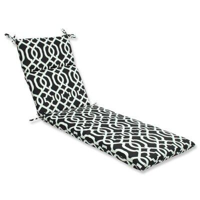Pillow Perfect New Geo Indoor/Outdoor Chaise Lounge Cushi...