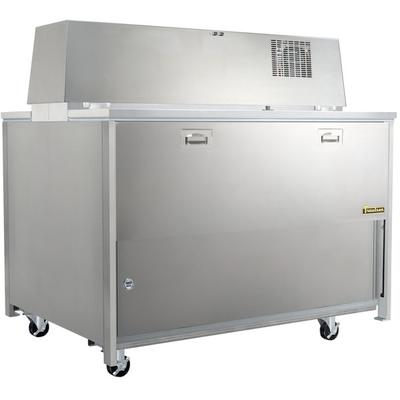 """TRAULSEN RMC34S6 34"""" Single Sided School Milk Cooler with..."""