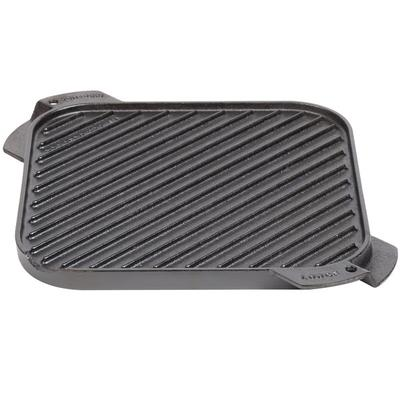 "Lodge LSRG3 10 1/2"" Pre-Seasoned Cast Iron Reversible Gri..."