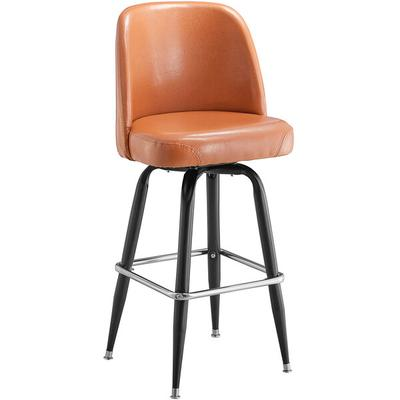 "Lancaster Table & Seating Deluxe Brown Barstool with 19"" ..."