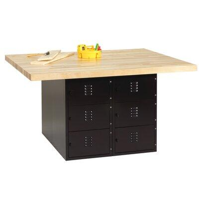 """Diversified Woodcrafts 64""""W Wood Top Workbench WB12ABL-0V"""
