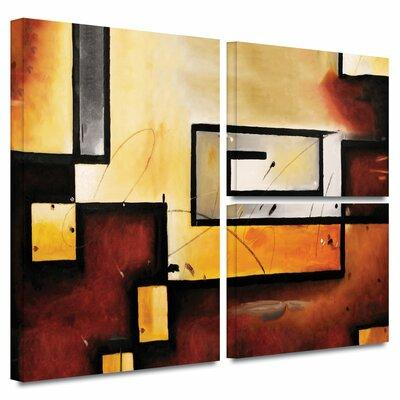 ArtWall 'Abstract Modern' by Jim Morana Flag 3 Piece Pain...