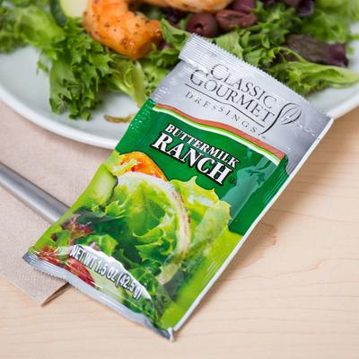 Classic Gourmet Buttermilk Ranch Dressing 1.5 oz. Portion...