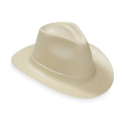 VULCAN VCB200-15 Hard Hat, Cowboy, 6Rtcht, Natural Tan