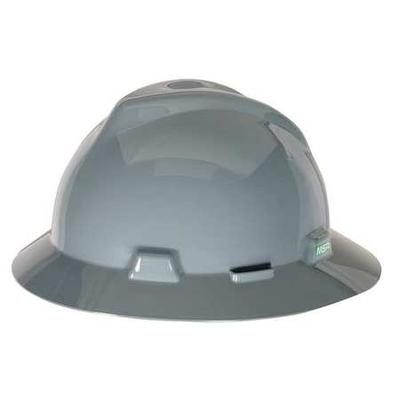 Mesa 475367 Hard Hat, FullBrim, Gray