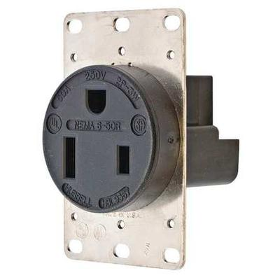 Receptacle, Hubbell Wiring Device-Kellems, HBL9367