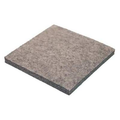 VALUE BRAND 2FHG4 Felt Sheet, F3, 3/8 In Thick, 12 x 12 In