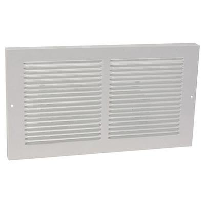 4MJW2 Return Air Baseboard Grille, 6x14 In