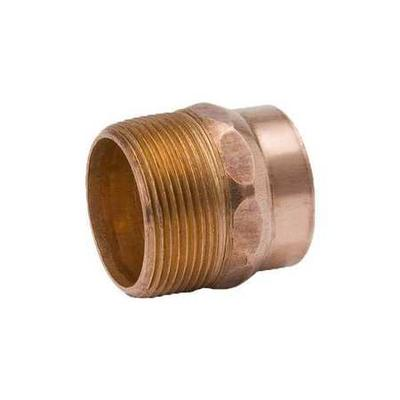 Mueller INDUSTRIES A 07094, Adapter, Copper to M Pipe, 2 ...