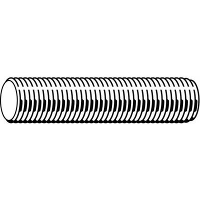 VALUE BRAND U51070.037.3600 Threaded Rod, 18-8 SS, 3/8-16...