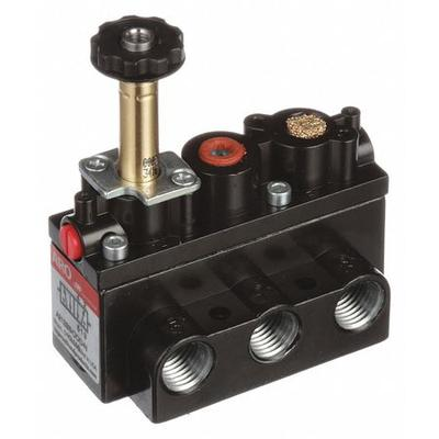 ARO A212SS-000-N Solenoid Air Control Valve,1/4 In,4-Way