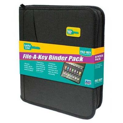 Lucky Line PRODUCTS 60020 File-A-Key, Binder, 42 Units