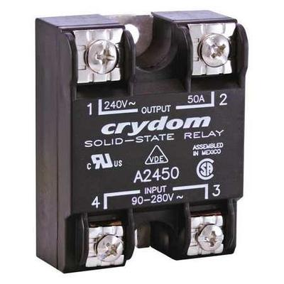 Solid State Relay,90 to 280VAC,25A CRYDOM A2425