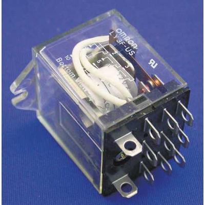 OMRON LY3F-AC24 Relay, 11Pin, 3PDT, 10A, 24VAC