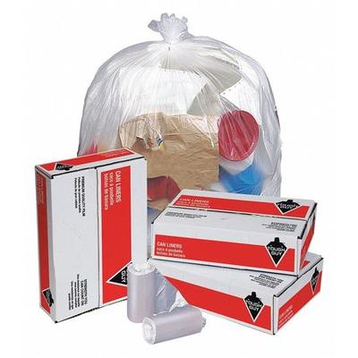 Tough Guy Trash Bags, 10 gal., 6 micron, PK1000, 4KN28