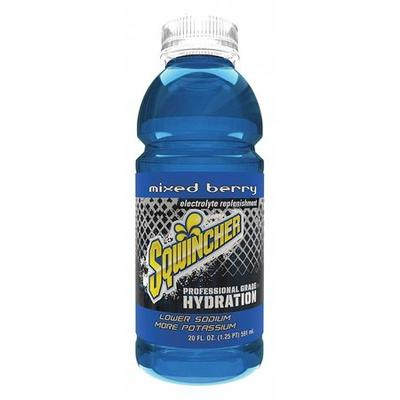 Sqwincher Sports Drink Ready to Drink, Mixed Berry 20 oz....
