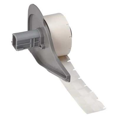 "BRADY 1/2"" x 3/4"" White on Translucent Cartridge Label, M..."