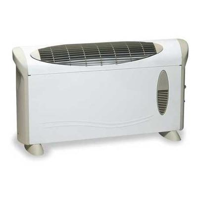 Dayton 1500/750W Electric Baseboard Heater, Convection, 1...