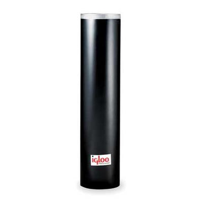 Igloo 9534 Cup Dispenser,Blk,250-7 to 8oz Cone Cups