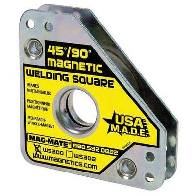 MAG-MATE WS300 Magnetic Welding Square, 3-3/4x3-3/4 in.